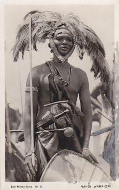 Nandi Warrior East Africa