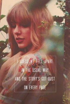 Holy Ground - Taylor Swift. LOOOOOVEE this one!!! <3<3<3