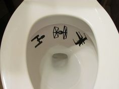 Boy Star Wars Toilet Targets