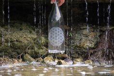 Shop #EtchedWaterBottles at www.bottlensoul.com #BottlenSoul #Water #Etched #GlassBottles