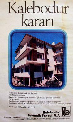 OĞUZ TOPOĞLU : kalebodur 1976 nostaljik eski reklamlar