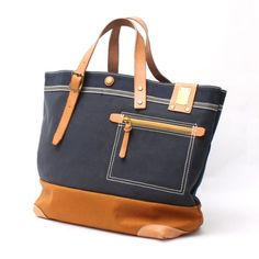 Leather Bags Handmade, Handmade Bags, Shoping Bag, Waxed Canvas Bag, Japanese Bag, Denim Tote Bags, Fabric Bags, Shopper, Cloth Bags