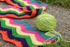 Double crochet ripple afghan patterns crochet and knitting . Double Crochet Baby Blanket, Crochet Ripple Afghan, Double Crochet Decrease, Scrap Yarn Crochet, Knit Crochet, Crochet Chain Stitch, Crochet Slipper Pattern, Vintage Crochet Patterns, Afghan Crochet Patterns