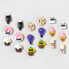 Sweets Stud Earrings Set of 9 $14.50