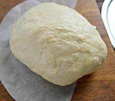 Everyone loves pizza, and this homemade Pizza Crust is a super easy way to make your own custom pizza at home. No need to order takeout from any of the local delivery places. Simply whip up this delicious dough in no time, and then you can top with your favorite pizza toppings. - Teaspoon Of Goodness
