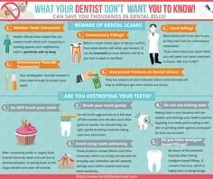 Find out what the dentist aren't telling you. Heal cavities and tooth decay without making a dreaded trip to the dentist.