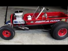 red wagon hot rod | Hot Rod Radio Flyer