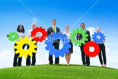 Business Connection Royalty Free Stock Photo