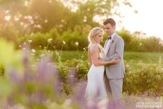 I don't think there's a better venue for a wedding in all of Nova Scotia than a beautiful Tangled Garden wedding, where Leigha and Scott said their vows Groom Poses, Party Photos, Formal Wedding, Tangled, Garden Wedding, Vows, Wedding Engagement, Bride, Sunset