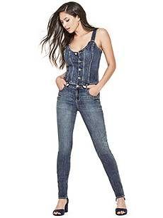 a592cacfc616 16 Best Beauty Denim Jumpsuit images
