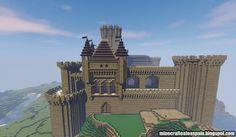 ¡MINECRAFTEATE!: Castillo Medieval basado en el Castillo de Butrón (Gatika-Guipuzkoa) Minecraft Plans, Minecraft Creations, Medieval Fantasy, Mystic, Castle, Houses, Mansions, Game, Wallpaper