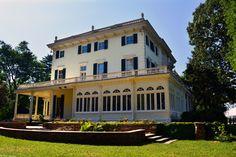 Glen Foerd Mansion; Side View.