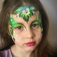 """52 Likes, 2 Comments - Leyla Shemesh (@leylashemesh) on Instagram: """"Garden fairy #fairyfacepaint #jerusalemfacepainter #flowerfairy"""""""