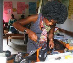 Solar Sister - teaching women in Africa practical solar technology www.solarsister.org