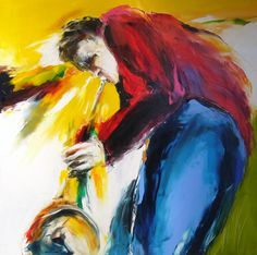souffle - Peinture,  100x100 cm ©2009 par Christian Vey -