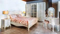 Hazeran Balkonlu Country Yatak Odası