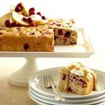 Cranberry-Pear-Walnut Cake From Better Homes and Gardens, ideas and improvement projects for your home and garden plus recipes and entertaining ideas.