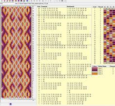 30 tarjetas, 4 colores, repite dibujo cada 16 movimientos // sed_127༺❁