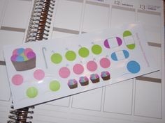 Crochet Yarn Stickers for Scrapbooking, Life Planner, Calendar, Filofax, Plum Paper by katy010305 on Etsy