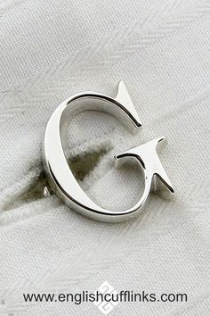 These beautiful silver initial cufflinks are handmade in our own workshops. An ideal gift for your groomsmen at your wedding, they are based on the classic Times Roman font giving them a simple understated elegance. Wedding Ring For Her, Wedding Pins, Gifts For Wedding Party, Party Gifts, Gifts For Brother, Gifts For Husband, Gifts For Him, Father Of The Bride, Best Day Ever