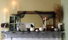 My mantle  The Eccentric Lady