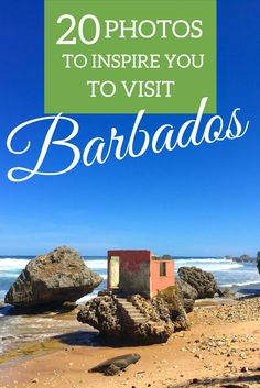 Barbados is a Caribbean paradise! Here are 20 photos to inspire you to visit the wonderful island!