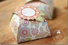 Pretty Designer Paper Box Templates :: Get Ready for Gift-giving Season .... FineCraftGuild.com