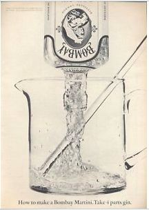 IMAGE UPDATE: Bombay Gin ad from the 1960s.  [VAUGHAN: YOU STILL NEED TO ASK THE BOMBAY ARCHIVE FOR THIS]