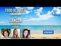 Food Blog University-- Join me for an amazing conference!  Join us for #FBU15....it's one food blogger conference you don't want to miss! Plus, when you book before July 15, 2015 you'll be upgraded to a plunge pool room for free AND save up to $150! Watch the video for details!  FoodBlogUniversity.com