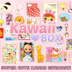 ❤ HURRY UP! THE GIVEAWAY IS ENDING SOON ❤ Win the next month's Kawaii Box filled with Japanese & Korean kawaii items:   http://www.supercutekawaii.com/2014/05/kawaii-box-giveaway/