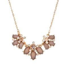 LC Lauren Conrad Flower Necklace #Kohls