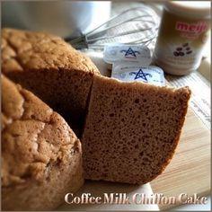 My Mind Patch: Coffee Milk Chiffon Cake 咖啡牛奶威风蛋糕