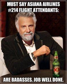 Yes they are! #crewlife #flightattendants #sfo #asiana #sassystewrants