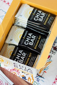 New Health Warrior Chia Bar Flavors + Giveaway Love these!