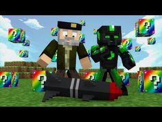 Minecraft: LANZAMISILES! c/ sTaXx | RAINBOW Lucky Blocks Epic Race - YouTube
