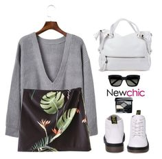 """""""Newchic~everyday style~"""" by gabygirafe ❤ liked on Polyvore featuring Yves Saint Laurent and Christian Dior"""