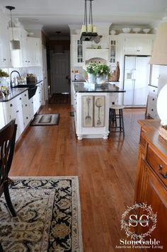 kitchen+with+fork+and+spoon+-+stonegableblog.com.jpg 1,059×1,600 pixels