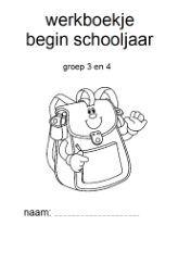 Begin schooljaar