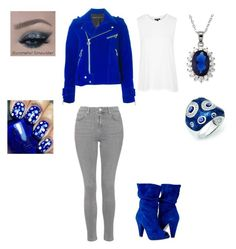 """""""Untitled #199"""" by sweet-strawberry-fairy ❤ liked on Polyvore featuring Topshop, Kevin Jewelers, Marc by Marc Jacobs and La Preciosa"""