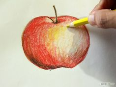 How to Use Watercolor Pencils. Watercolor pencils can help you create beautiful watercolor works of art without having to use paints. Draw with your pencils on watercolor paper or thick papers that will hold water. Watercolor Pencil Art, Watercolour Painting, Painting & Drawing, Simple Watercolor, Tattoo Watercolor, Watercolor Trees, Watercolor Animals, Watercolor Background, Watercolor Landscape