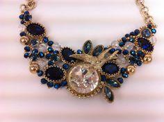 Vintage Blue Perfecto. €180.00, via Etsy.