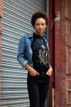 Afrodita Dorado #fashion #models #topmodels #nyc #streetstyle