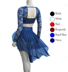 Romantic Lyrical Dance Costume Several by BlackSapphireDesign