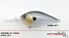 Isca Matadeira modelo cbbl04 #cbbl #cbbl04 #matadeira #fishing #blackbass #traíra #bigbass #bassmonster