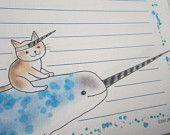 letter-paper / Sea Unicorn