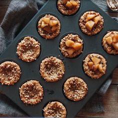 Muffins croustillants de pommes caramélisées - Pommes Qualité Québec, Recette