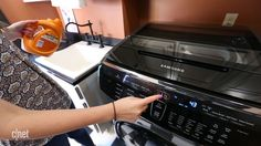 Samsung's $1,899 FlexWash packs two smart washing machines into one attractive appliance.