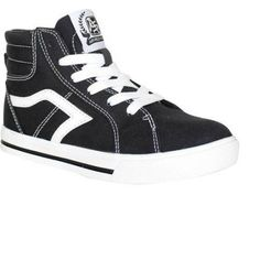 Airspeed Boys Canvas Casual Shoe, Infant Boy's, Size: 2, Black