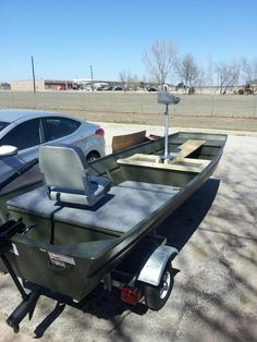 Matt Russo uploaded this image to 'Boat'. See the album on Photobucket. Jon Boy, Duck Boat, Boat Projects, Bass Boat, Outdoor Furniture Sets, Outdoor Decor, Fishing, Barn, Platform