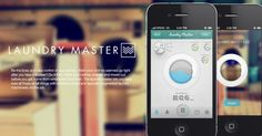 Laundry Master Iphone App | Designer: Zahir Ramos| Click image for full project